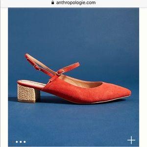 Anthropologie Farylrobin Sabrina Slingback Heels